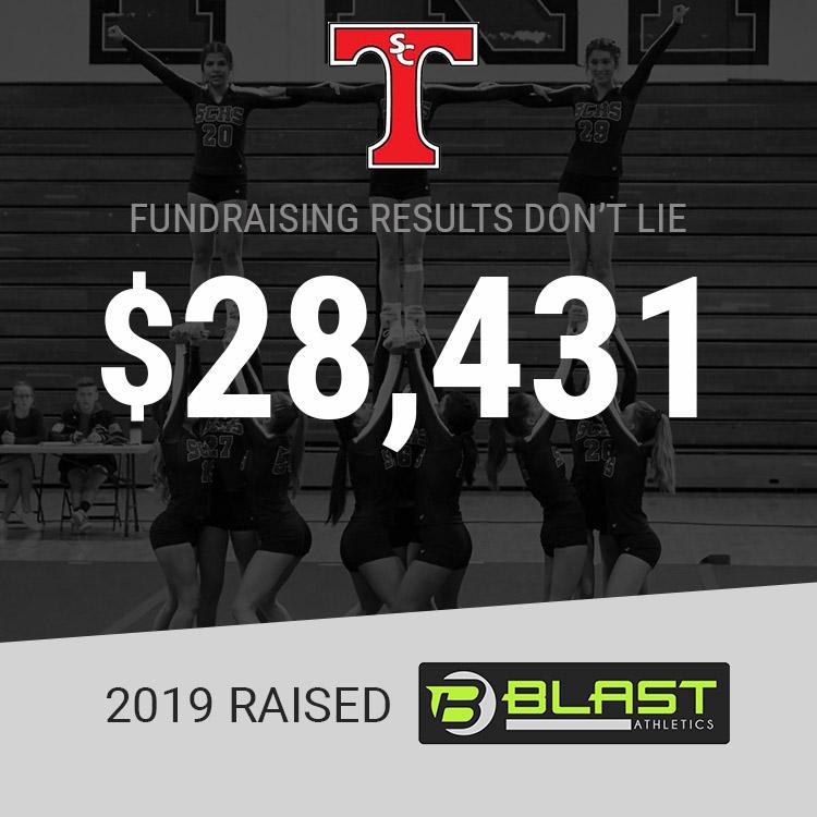 Blast Fundraising Post San Clemente Cheer website